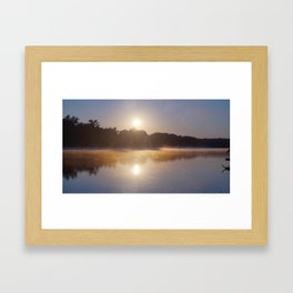 "RVA: The James River Says ""Good Morning!"" Framed Art Print"