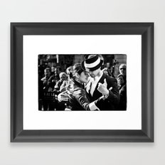Tango Couple  Framed Art Print