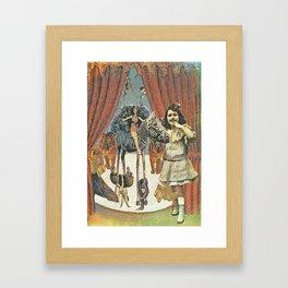 Circus Friends - Katrina Niswander Framed Art Print