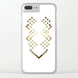 CUBIC DELAY Clear iPhone Case