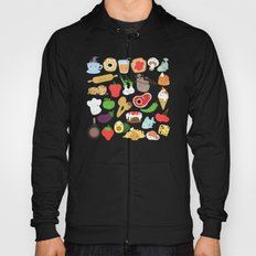 Cute food Hoody