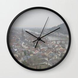 Heidelberg Mist Wall Clock