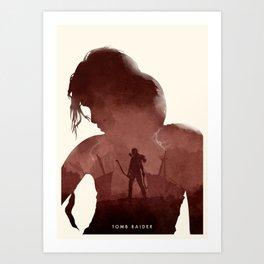 Tomb Raider (II) Art Print