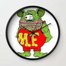 Meat Fink Wall Clock