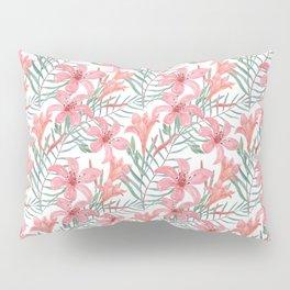 Pink lilies. Pillow Sham