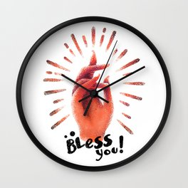 Bless you Wall Clock