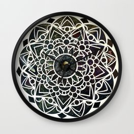 Space Mandala  Wall Clock