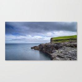 Faroese Coast Canvas Print