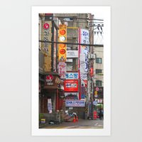 seoul Art Prints featuring Seoul, Korea by Kimberly Vogel Travel Photographer