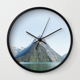 Mitre Peak Wall Clock