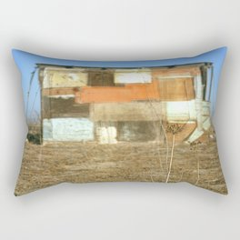 Double Exposure with Rauschenberg in Mind, 2007 Rectangular Pillow