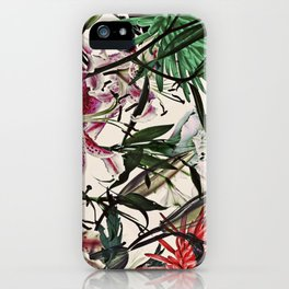 WHITE FLOWERS 9197 iPhone Case
