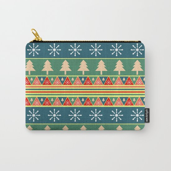 Christmas pattern II Carry-All Pouch