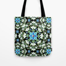 Beaux Arts Folkloric Lily Tote Bag