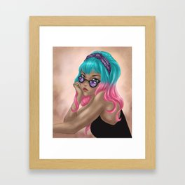 Candy Crush Framed Art Print