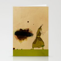 avatar Stationery Cards featuring Avatar Kyoshi by daniel