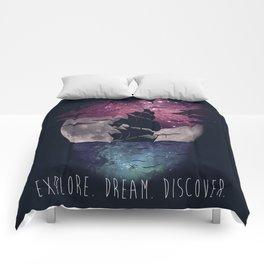 Explore. Dream. Discover. Comforters
