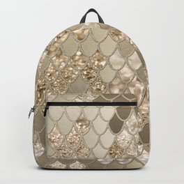 Mermaid Glitter Scales #5 (Faux Glitter) #shiny #decor #art #society6 Backpack