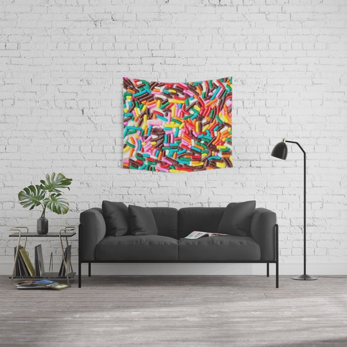 Extra Sprinkles  Wall Tapestry