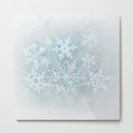 Snow is coming Metal Print