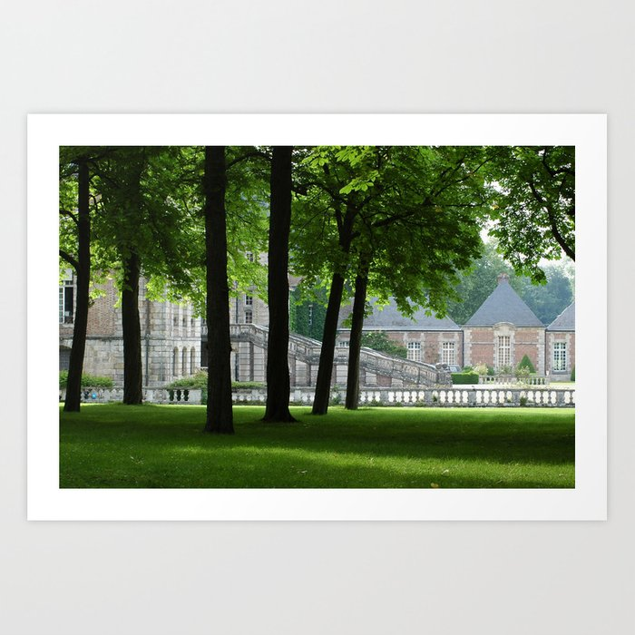 Guarding Trees Art Print