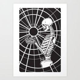 Holding Onto Hope ~ Black Art Print