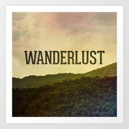 Wanderlust I Art Print