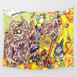 Low Life Adventurerers Wall Tapestry