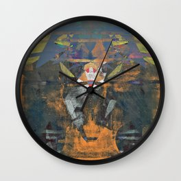 disquiet nineteen (unrecognized, well preserved) Wall Clock