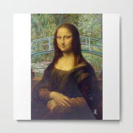Da Vinci x Monet Metal Print