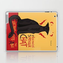 d'Electricité Statique Chat [Staticat] Laptop & iPad Skin