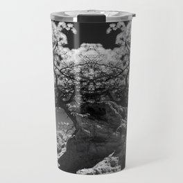 Conjoined Torrey Pines in Infrared Travel Mug