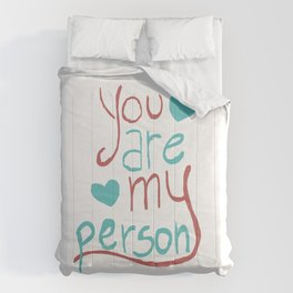 My Person Comforters