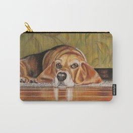 Basset Hound: Tate Carry-All Pouch
