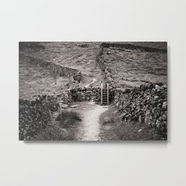Crossing Place Metal Print