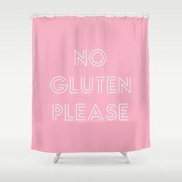 no gluten Shower Curtain