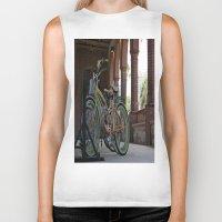 bikes Biker Tanks featuring Bikes by Photaugraffiti