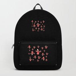 Cactus Girls at night Backpack