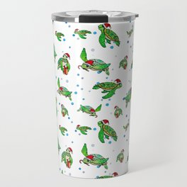 Holiday Sea Turtles Travel Mug