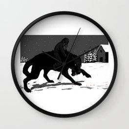 Svart-Alf Wall Clock
