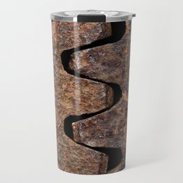 Old and rusty cogwheels Travel Mug