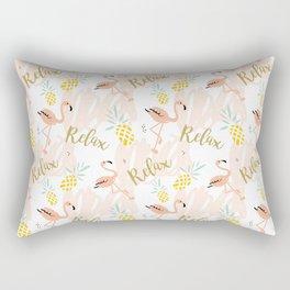 Pink flamingo Rectangular Pillow