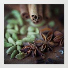 Chai Spices Canvas Print