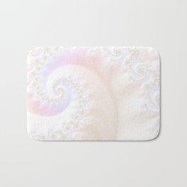 Ocean Treasure -- Mother of Pearls Mandelbrot Bath Mat