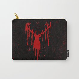 Red Stag Head #2 Carry-All Pouch