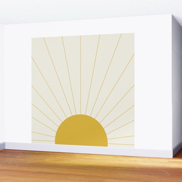 Sunrise / Sunset Minimalism Wall Mural