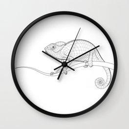 The Chameleon Wall Clock