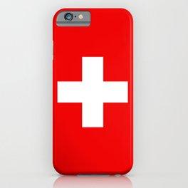 Swiss Flag of Switzerland iPhone Case