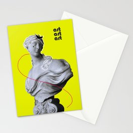 ART |STATUESQUE| Stationery Cards