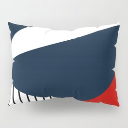 Abstract geometric pattern Lola 2 Pillow Sham